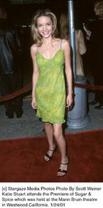 """Katie Stuartattends the """"Sugar and Spice"""" Premiere, 1/24/01. © 2001 Glenn Weiner - Image 17630_0101"""