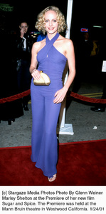 "Marley Sheltonattends the ""Sugar and Spice"" Premiere, 1/24/01. © 2001 Glenn Weiner - Image 17630_0104"