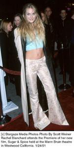 """Rachel Blanchardattends the """"Sugar and Spice"""" Premiere, 1/24/01. © 2001 Scott Weiner - Image 17630_0109"""