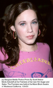 "Marla Sokoloff at the ""Sugar and Spice"" Premiere, 1/24/01. © 2001 Scott Weiner - Image 17630_0116"