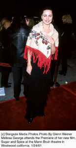 """Melissa George at the """"Sugar and Spice"""" Premiere, 1/24/01. © 2001 Glenn Weiner - Image 17630_0117"""