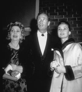 """Suddenly Last Summer Premiere andParty"" Mel Ferrer, Audrey Hepburn  / 1959 © 1978 David Sutton - Image 1763_0014"