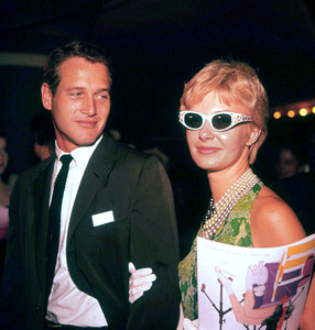 """Ice Follies"" Premiere,Paul Newman and Joanne Woodward,1961. © 1978 Bernie Abramson - Image 1764_0001"
