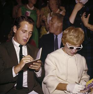 """Ice Follies"" PremierePaul Newman, Joanne Woodward1961© 1978 Bernie Abramson - Image 1764_0009"