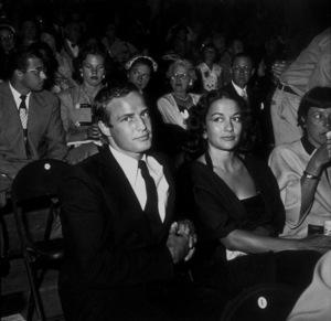 """Ice Follies""Marlon BrandoC. 1958Photo by Gerald SmithMPTV - Image 1764_0015"