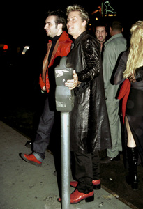 NSYNC Reception Party in New York, 2000.Chris Kirkpatrick,  Lance Bass © 2000 Ariel Ramerez - Image 17704_0103