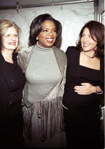 Oprah Winfrey and partners.OXYGEN Launch Party, New York,  2000. © 2000 Ariel Ramerez - Image 17707_0102