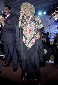 Celia CruzOXYGEN Launch Party, New York,  2000. © 2000 Ariel Ramerez - Image 17707_0108