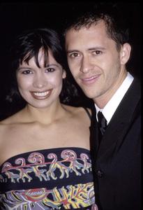 "Danielle Camastra, Clifton Collins Jr.""Price of Glory"" Premiere,  2000. © 2000 Ariel Ramerez - Image 17710_0100"