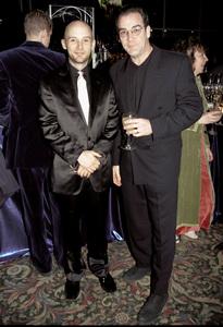Moby & Mandy PatinkinPublic Theater 2000. © 2000 Ariel Ramerez - Image 17711_0102