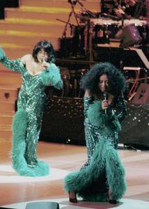 "Diana Ross and Scherrie Payne""Return To Love"" Concert Tour, 2000. © 2000 Ariel Ramerez - Image 17713_0112"