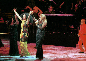 """Diana Ross and the Supremes (Lynda Laurence and Scherrie Payne)""""Return To Love"""" Concert Tour,  2000. © 2000 Ariel Ramerez - Image 17713_0114"""
