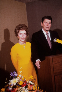 Ronald Reagan and wife Nancy Reagan campaigning for president1980 © 1980 GuntherMPTV - Image 1776_0003