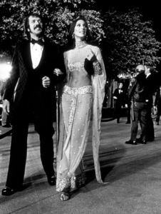 """""""Academy Awards: 45th Annual""""Sonny and Cher1973 © 1978 Bud Gray - Image 1781_0008"""