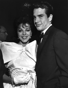 """Golden Globe Awards""Joan Collins, Warren Beatty1961 © 1978 David Sutton - Image 1782_0001"