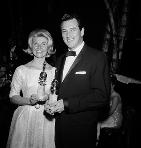 """The Golden Globe Awards""Doris Day, Rock Hudson1961 © 1978 David Sutton  - Image 1782_0013"