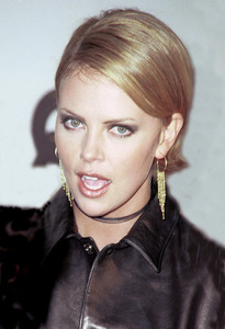 """Charlize Theron""""GQ"""" Men Of The Year Awards: 2000. © 2000 Ariel Ramerez - Image 17871_0100"""
