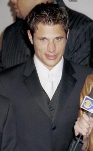 "98 Degrees (Nick Lachey)""GQ"" Men Of The Year Awards: 2000. © 2000 Ariel Ramerez - Image 17871_0102"