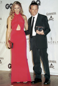 "Michael J. Fox, Tracy Pollan""GQ"" Men Of The Year Awards: 2000. © 2000 Ariel Ramerez - Image 17871_0118"