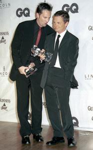 "Matthew Perry, Michael J. Fox""GQ"" Men Of The Year Awards: 2000. © 2000 Ariel Ramerez - Image 17871_0125"