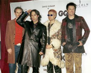 """Third Eye Blind""""GQ"""" Men Of The Year Awards: 2000. © 2000 Ariel Ramerez - Image 17871_0136"""