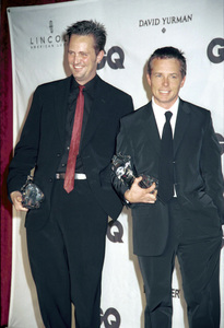 "Matthew Perry, Michael J. Fox""GQ"" Men Of The Year Awards: 2000. © 2000 Ariel Ramerez - Image 17871_0144"