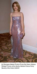 Norby Walters Oscar PartyBridget FondaBeverly Hills Hotel,  3/25/01 © 2001 Glenn Weiner - Image 17969_0101