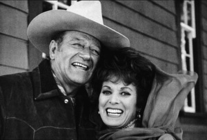 """Big Jake,"" Batjac/Cinema Center 1970.John Wayne and Maureen O"