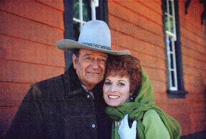 """Big Jake,"" Batjac/Cinema Center 1970.John Wayne and Maureen O"
