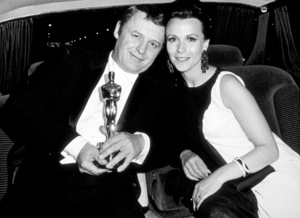 """""""Academy Awards: 40th Annual,""""Rod Steiger and Claire Bloom.(Winner 1968). © 1978 David Sutton - Image 1799_0005"""