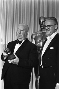 """The 40th Annual Academy Awards""Alfred Hitchcock, Robert Wise1968 © 1978 Bud Gray - Image 1799_0039"