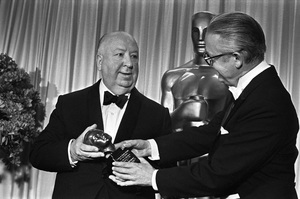 """The 40th Annual Academy Awards""Alfred Hitchcock, Robert Wise1968 © 1978 Bud Gray - Image 1799_0040"