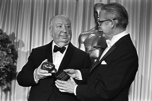 """The 40th Annual Academy Awards""Alfred Hitchcock, Robert Wise1968 © 1978 Bud Gray - Image 1799_0041"