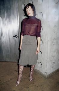 Milla JovovichNew York Fashion Week, 2000. © 2000 Ariel Ramerez - Image 18002_0120