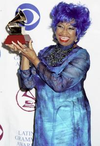 Celia CruzLatin Grammy Awards: 2000, New York © 2000 Ariel Ramerez - Image 18003_0119