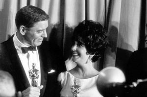 """Academy Awards: 33rd Annual""Burt Lancaster and Elizabeth Taylor1961 © 1978 Roger Marshutz - Image 1801_0001"