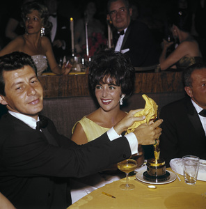 """Academy Awards: 33rd Annual"" Eddie Fisher and Elizabeth Taylor 1961© 1978 Bernie Abramson - Image 1801_0002"