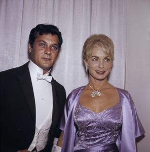 """The 33rd Annual Academy Awards"" Tony Curtis, Janet Leigh 1961 © 1978 Bernie Abramson - Image 1801_0006"