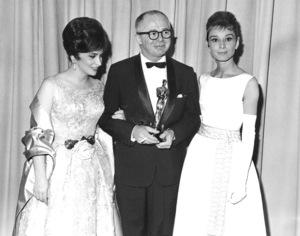 """Academy Awards: 33rd Annual""Gina Lollobrigida, Billy Wilder,Audrey Hepburn1961**I.V. - Image 1801_0030"