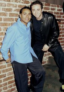 George Lamond, Hector EchavarriaLatin Grammy 2000: Conga Room © 2000 Ariel Ramerez - Image 18052_0107