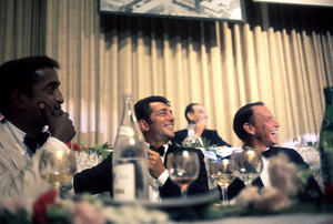 Cedars Sinai Benefit Party, c. 1961.Sammy Davis Jr., Dean Martin, Frank Sinatra © 1978 David Sutton - Image 1807_0003