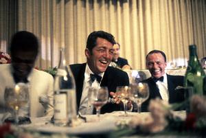 Cedars Sinai Benefit Party, c. 1961.Sammy Davis Jr., Dean Martin, Frank Sinatra © 1978 David Sutton - Image 1807_0004