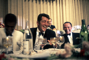 Cedars Sinai Benefit Party, c. 1961.Sammy Davis Jr., Dean Martin, Frank Sinatra © 1978 David Sutton - Image 1807_0004