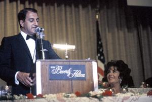 """Cedars-Sinai Benefit / Party""Danny Thomas, Elizabeth Taylorcirca 1961 / The Beverly Hilton © 1978 David Sutton - Image 1807_0006"