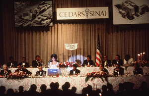 Cedars Sinai Party and BenefitElizabeth Taylor and Robert KennedyC. 1961 © 1978 David SuttonMPTV - Image 1807_0007