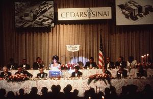 Cedars Sinai Party and BenefitElizabeth Taylor and Robert KennedyC. 1961 © 1978 David SuttonMPTV - Image 1807_0007