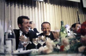 """Cedars-Sinai Benefit / Party""Dean Martin, Frank Sinatracirca 1961 / The Beverly Hilton © 1978 David Sutton - Image 1807_0009"