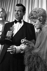 """The 39th Annual Academy Awards""Walter Matthau, Shelley Winters1967 © 1978 Bud Gray - Image 1808_0045"