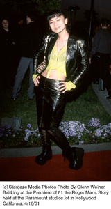 © Stargaze Media Photos Photo By Glenn WeinerBai Ling at the Premiere of 61 the Roger Maris Storyheld at the Paramount studios lot in HollywoodCalifornia. 4/16/01 - Image 18094_0101