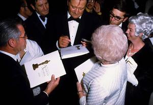 """Academy Awards - 42nd Annual,"" 1970.Best Actor winner for ""True Grit."" © 1978 David Sutton - Image 1812_0025"